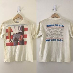 1984 Vintage • Bruce Springsteen Born in the USA T
